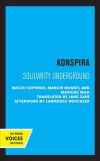 Konspira : Solidarity Underground (Society and Culture in East-central Europe)