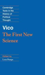 G.ヴィーコ『新しい学』(1725年版・英訳)<br>Vico : The First New Science (Cambridge Texts in the History of Political Thought)