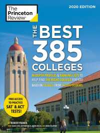 The Princeton Review the Best 385 Colleges 2020 : In-Depth Profiles & Ranking Lists to Help Find the Right College for You (Best Colleges (Princeton R