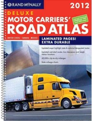 Rand McNally 2012 Deluxe Motor Carriers Road Atlas (Rand Mcnally Motor Carriers' Road Atlas Deluxe Edition) (SPI)
