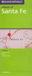 Rand McNally Streets of Santa Fe (FOL MAP)