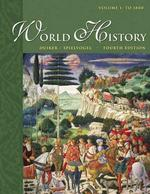 World History with Infotrac : To 1800 〈1〉 (4TH)