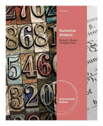 Numerical Analysis, International Edition -- Paperback / softback (9 ed)