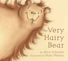 Very Hairy Bear (BRDBK)