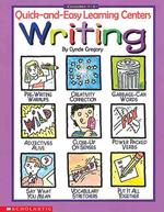 Writing : Quick-And-Easy Learning Centers