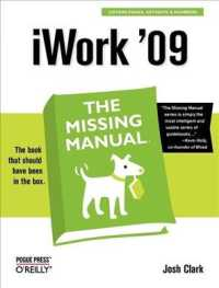 iWork '09 : The Missing Manual (Missing Manual) (1ST)