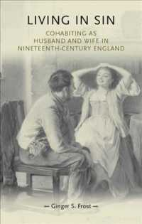 Living in Sin : Cohabiting as Husband and Wife in Nineteenth-century England (Gender in History)