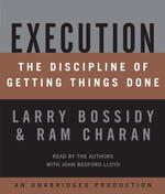 Execution (7-Volume Set) : The Discipline of Getting Things Done (Unabridged)