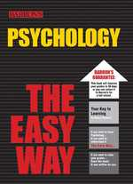 Psychology the Easy Way (Barron's E-z (Easy) Series)