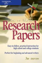 How to Write Research Papers (How to Write Research Papers) (3 REV SUB)
