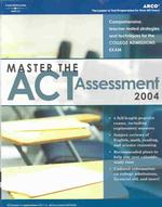 Master the Act Assessment 2004 (Master the New Act Assessment) (4 REV SUB)