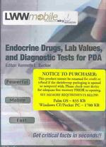 Endocrine Drugs, Lab Values, and Diagnostic Tests for Pda (CDR)