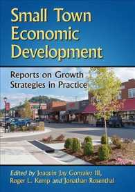 Small Town Economic Development : Reports on Growth Strategies in Practice