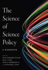 the science of science policy a handbook innovation and