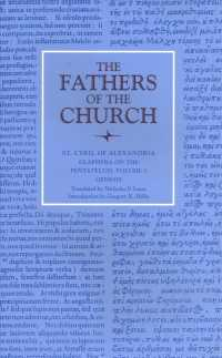 Glaphyra on the Pentateuch v. 1 The fathers of the church, a new translation