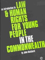 An Introduction to Law & Human Rights for Young People in the Commonwealth