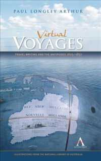 Virtual Voyages : Travel Writing and the Antipodes 1605-1837 (Anthem Studies in Travel)