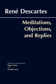 Meditations, Objections, and Replies : pbk