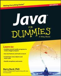 Java for Dummies (For Dummies (Computer/tech)) (6TH)