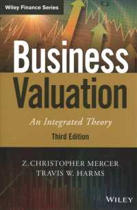 Business Valuation : An Integrated Theory (Wiley Series in Finance) (3TH)
