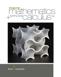 Finite Mathematics and Applied Calculus (6TH)