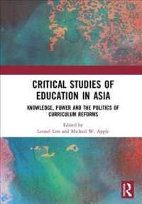 Critical Studies of Education in Asia : Knowledge, Power and the Politics of Curriculum Reforms