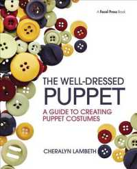 The Well-dressed Puppet : A Guide to Creating Puppet Costumes