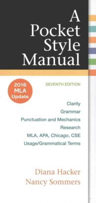 A Pocket Style Manual : 2016 Mla Update (7 PCK SPI)