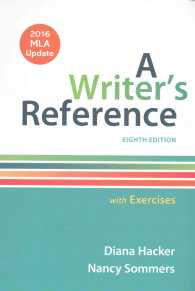 A Writer's Reference with Exercises : 2016 Mla Update (8 PCK SPI)