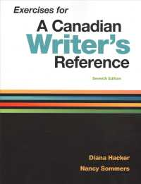 Exercises for a Canadian Writer's Reference (7 CSM)