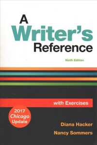 A Writer's Reference with Exercises (9 PCK SPI)