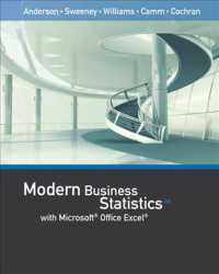 modern business statistics with microsoft excel anderson david r