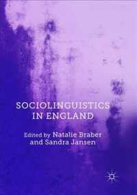 Sociolinguistics in England (Reprint)