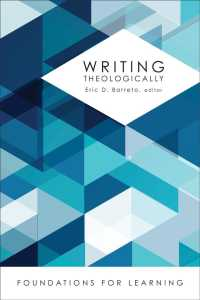 Writing theologically pbk. Foundations for learning