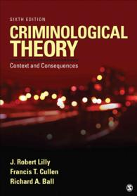 criminological theory context and consequences lilly j robert