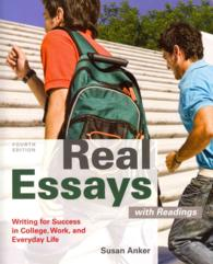 real essays with readings writing for success in college work