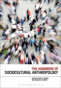 The Handbook of Sociocultural Anthropology (Reprint)