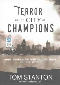 Terror in the City of Champions : Murder, Baseball, and the Secret Society That Shocked Depression-Era Detroit (MP3 UNA)