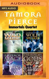 Tamora Pierce Immortals Quartet (6-Volume Set) : Wild Magic / Wolf-speaker / Emperor Mage / the Realms of the Gods (Immortals) (MP3 UNA)