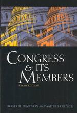 Congress and Its Members -- Paperback (9 Rev ed)