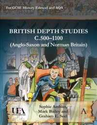 British Depth Studies C500-1100 : Anglo-Saxon and Norman Britain; for GCSE History EDEXEL and AQA