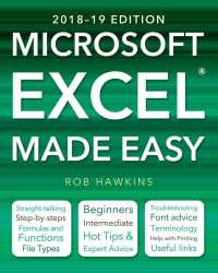 microsoft excel made easy 2018 19 made easy hawkins rob
