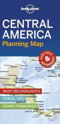 Lonely Planet Central America Planning Map (Map) (MAP)