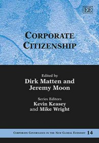 企業市民権<br>Corporate Citizenship (Corporate Governance in the New Global Economy)