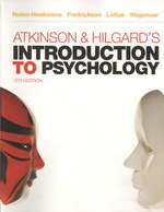 Atkinson & Hilgard's introduction to psychology : pbk