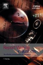 Report Writing in Business (2 New)