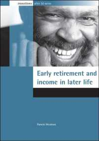 Early Retirement and Income in Later Life (Transitions after 50 Series)