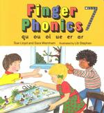Finger Phonics Book 7 : Qu, Ou, Oi, Ue, Er, Ar/Board Book