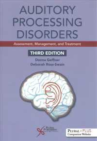 Auditory processing disorders assessment, management, and treatment