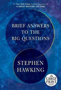 Brief Answers to the Big Questions (Random House Large Print) (LRG)